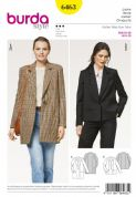 6463 Burda Pattern Jacket